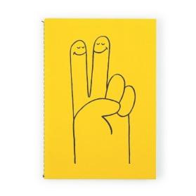 Libreta Peace Hand