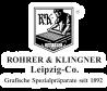 Manufacturer - Rohrer & Klingner